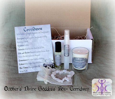 October 2016 Divine Goddess Box: Cerridwen