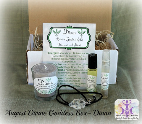 August 2016 Divine Goddess Box: Diana