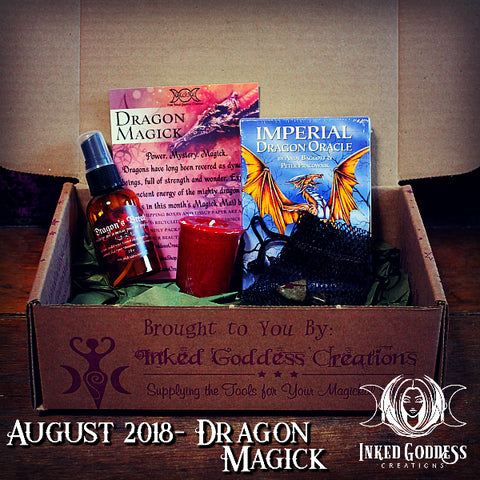 August 2018 Magick Mail- Dragon Magick