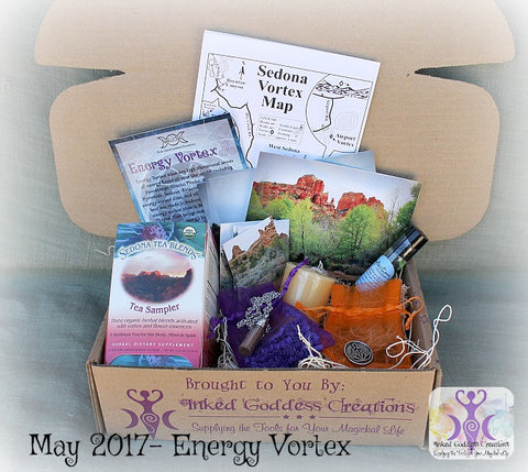 May 2017 Magick Mail Box: Energy Vortex