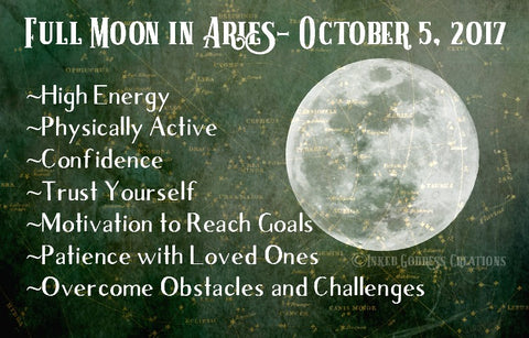 Full Moon in Aries, October 5, 2017