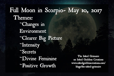 Full Moon in Scorpio