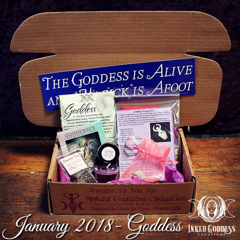 January 2018 Magick Mail Box: Goddess