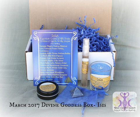 March 2017 Divine Goddess Box: Isis