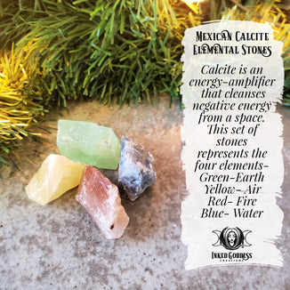 December 11- Mexican Calcite Elemental Stones