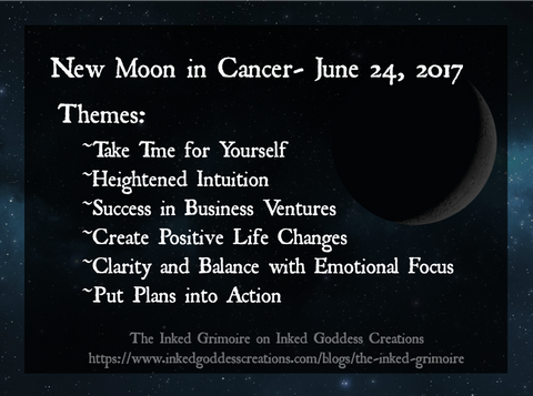 New Moon in Cancer- June 24, 2017