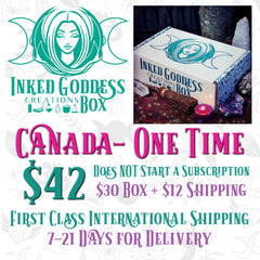 Canada One Time Purchase Box- Inked Goddess Creations