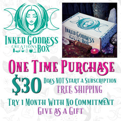 Inked Goddess Creations One Time Purchase Box