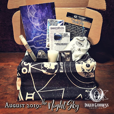 August 2019 Inked Goddess Creations Box: The Night Sky