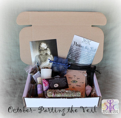 October 2016 Magick Mail Box: Parting the Veil