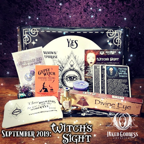 September 2019 Inked Goddess Creations Box: Witch's Sight