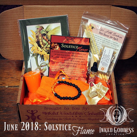 June 2018 Magick Mail- Solstice Flame