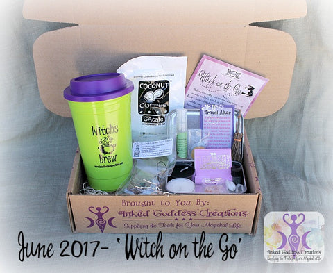 June 2017 Magick Mail Box: Witch on the Go