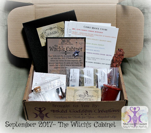 The Witch's Cabinet Magick Mail Box