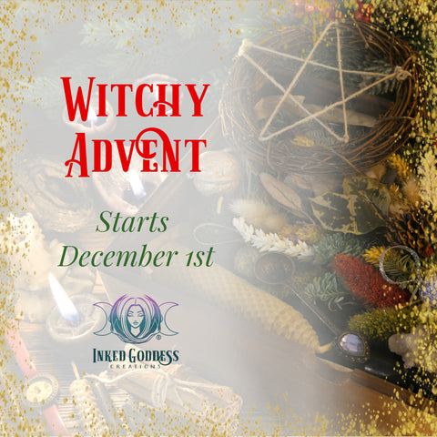 Witchy Advent 2020- Inked Goddess Creations