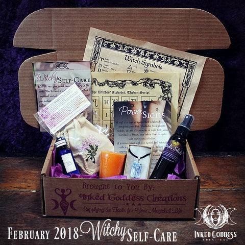 February 2018 Magick Mail Box: Witchy Self-Care
