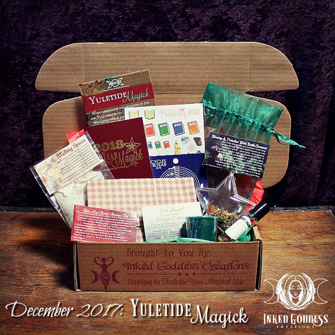December 2017 Magick Mail- Yuletide Magick
