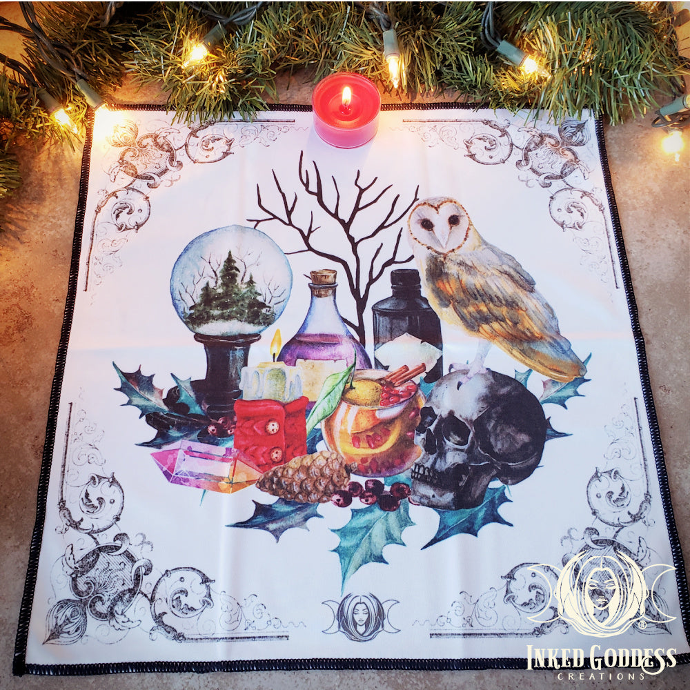 2019 Yule Magick Altar Cloth