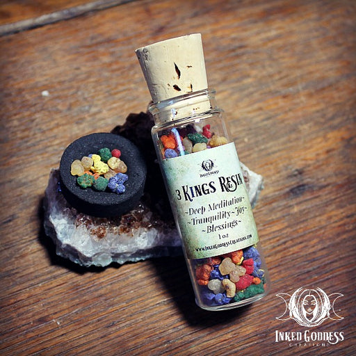 Three Kings Resin