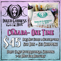 Inked Goddess Creations Box- One Time Purchase- Canada Listing