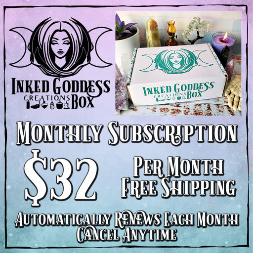Inked Goddess Creations Box (Formerly Magick Mail)- Monthly Recurring Subscription