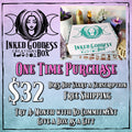 Inked Goddess Creations Box (Formerly Magick Mail)- One Time Purchase