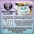 Inked Goddess Creations Box (Formerly Magick Mail)- 3 Month Recurring Subscription