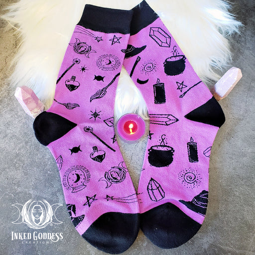 Witchy Tools Socks- One Size Fits Most- IGC Exclusive!