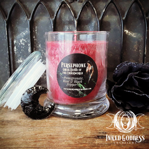 Persephone Jar Candle- Greek Queen of the Underworld