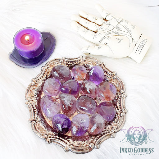 Tumbled Ametrine for Mental Focus