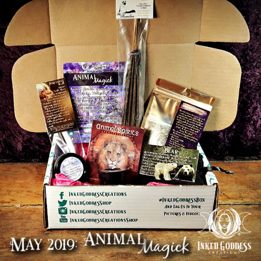 Animal Magick Inked Goddess Creations Box