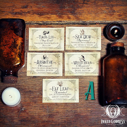Apothecary Labels A