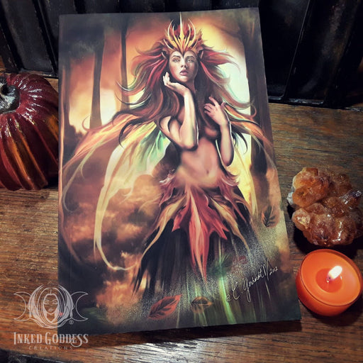 Sovereign of Autumn Journal for Fall Magick