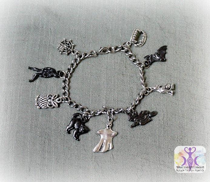 Bump in the Night Charm Bracelet
