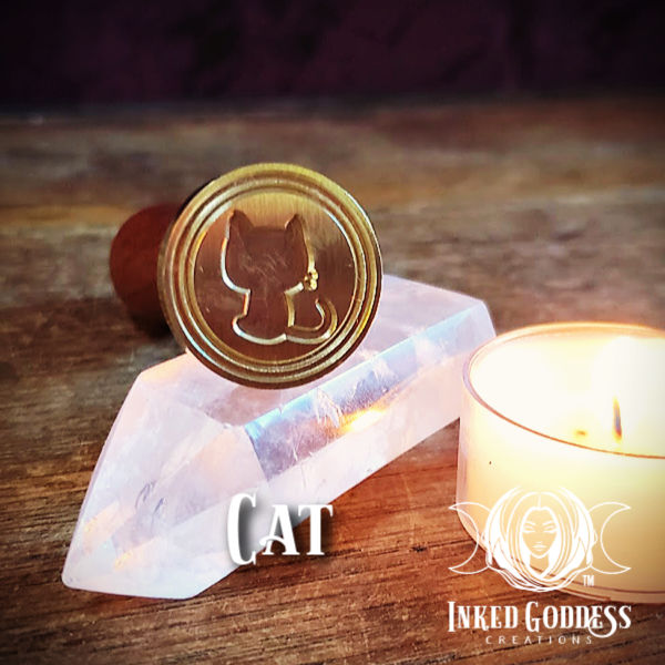 Cat Wax Seal Stamp