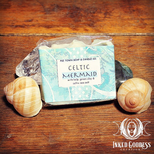 Celtic Mermaid Soap