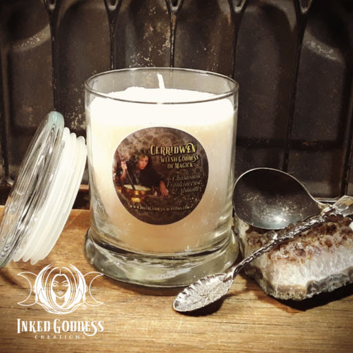 Cerridwen Jar Candle- Welsh Goddess of Magick