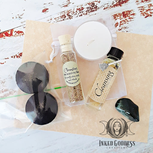 Cleansing Spell Kit from Inked Goddess Creations