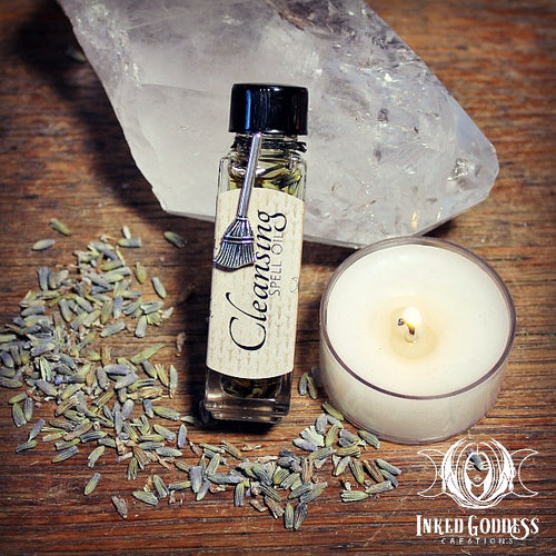 Cleansing Spell Oil