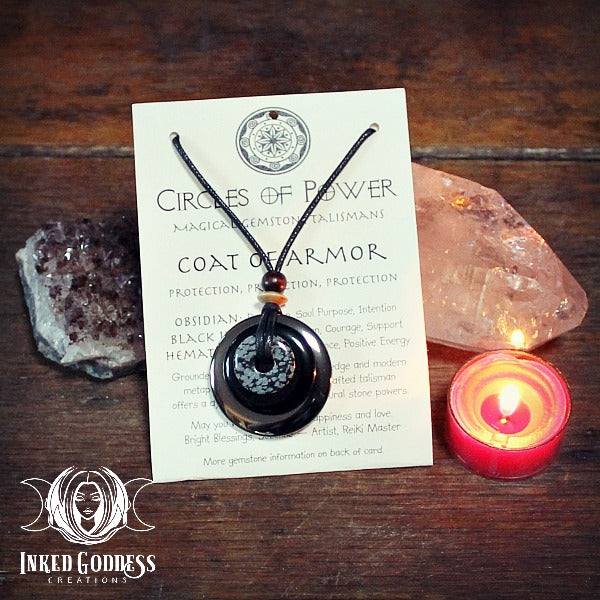 Coat of Armor Circles of Power Necklace