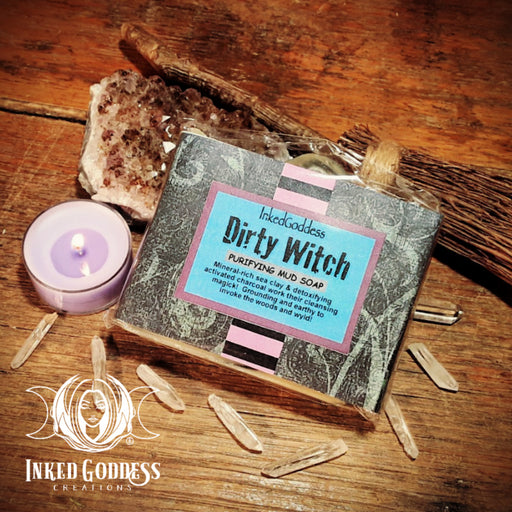 Dirty Witch Soap- Inked Goddess Creations Exclusive Blend!