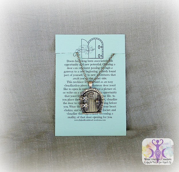 Fairy Door Locket Necklace for Manifesting Your Dreams
