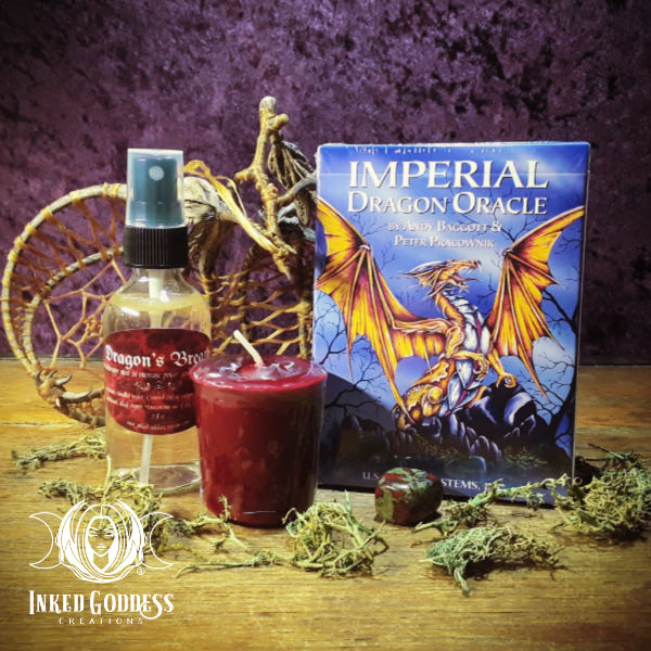 Dragon Magick Set- Inked Goddess Creations Exclusive