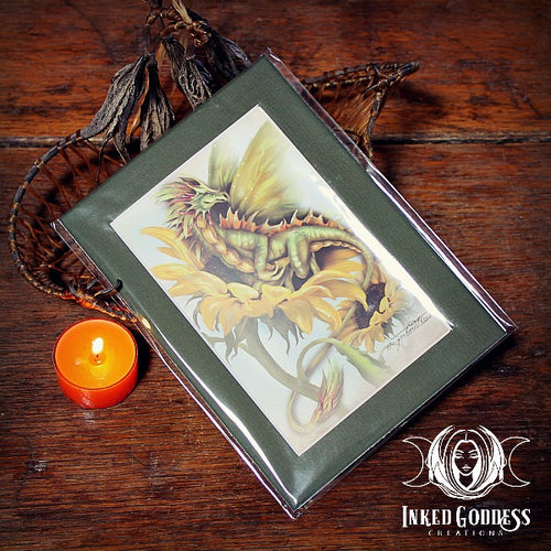 Summer- Season of the Drakon Art Print