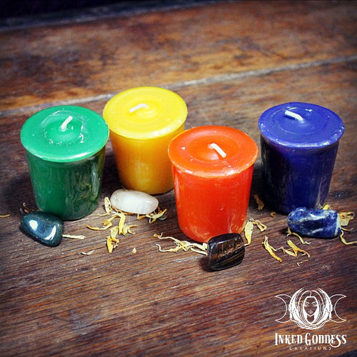 Element Votive Candles