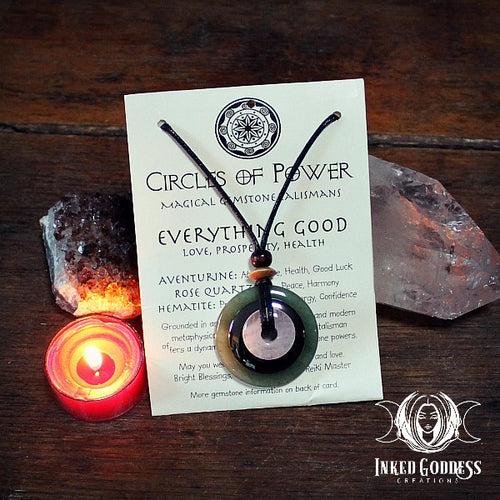 Everything Good Circles of Power Necklace