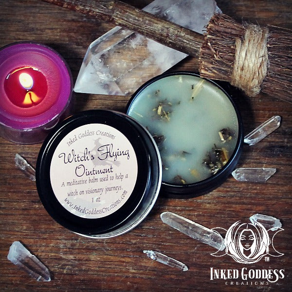 Witch's Flying Ointment for Visionary Journeys