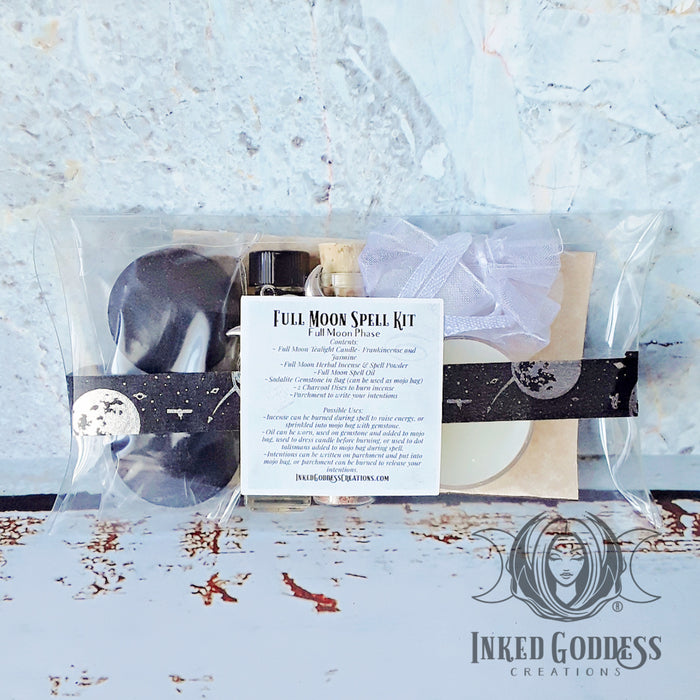 Full Moon Spell Kit from Inked Goddess Creations