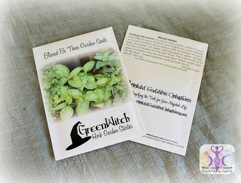Green Witch Herb Garden Starter Seed Pack