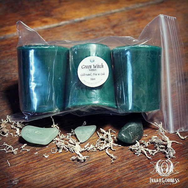 Green Witch Votives